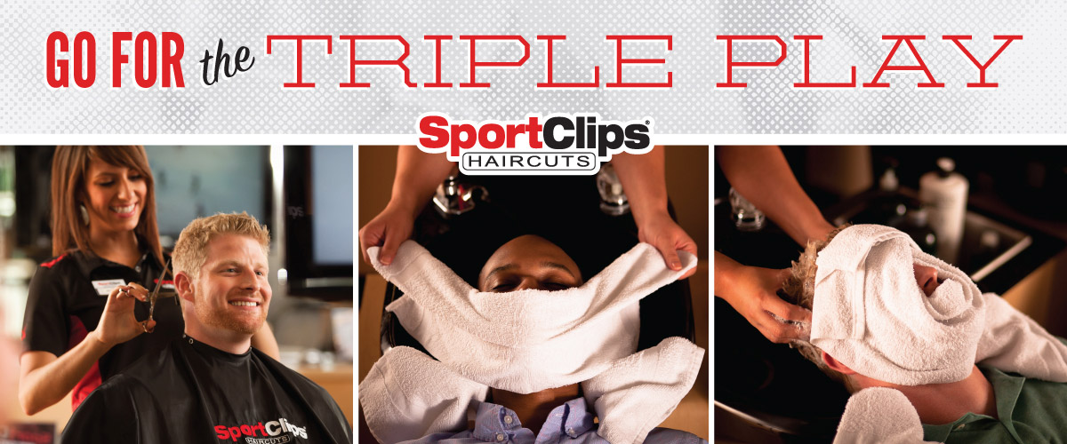 The Sport Clips Haircuts of Chino Hills Triple Play